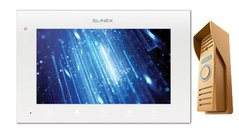 Комплект домофона Slinex SQ-07MTHD white-gold Full HD