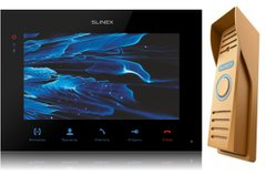 Комплект домофона Slinex SQ-07MTHD black-gold Full HD
